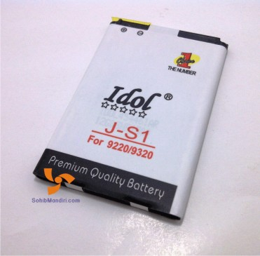 baterai blackberry double power JS1 davis 9220 armstrong 9320